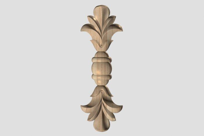Фото 1 - Декор вертикальный DV009.