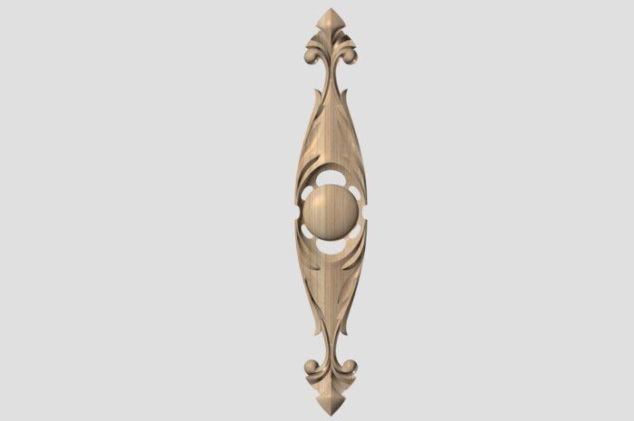 Фото 1 - Декор вертикальный DV004.