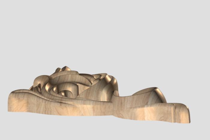 Фото 3 - Декор угловой DU014.