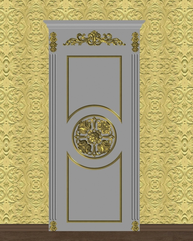 Фото 1 - Комплект резьбы для дверей DVER002.