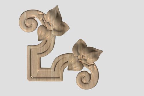 Фото 5 - Декор угловой DU024.