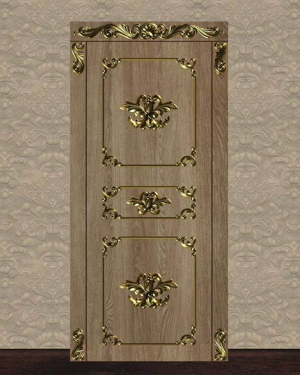Фото 2 - Комплект резьбы для дверей DVER003.
