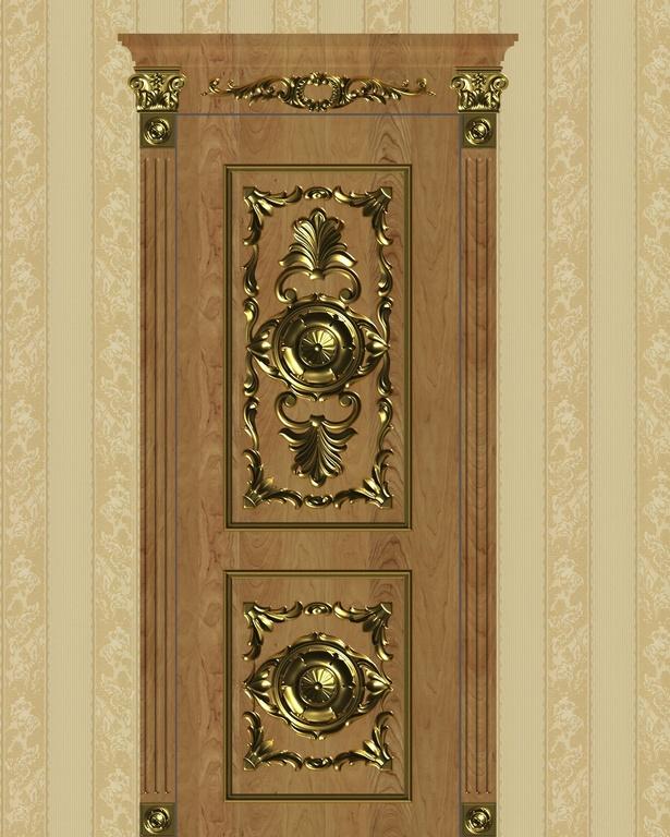 Фото 1 - Комплект резьбы для дверей DVER001.