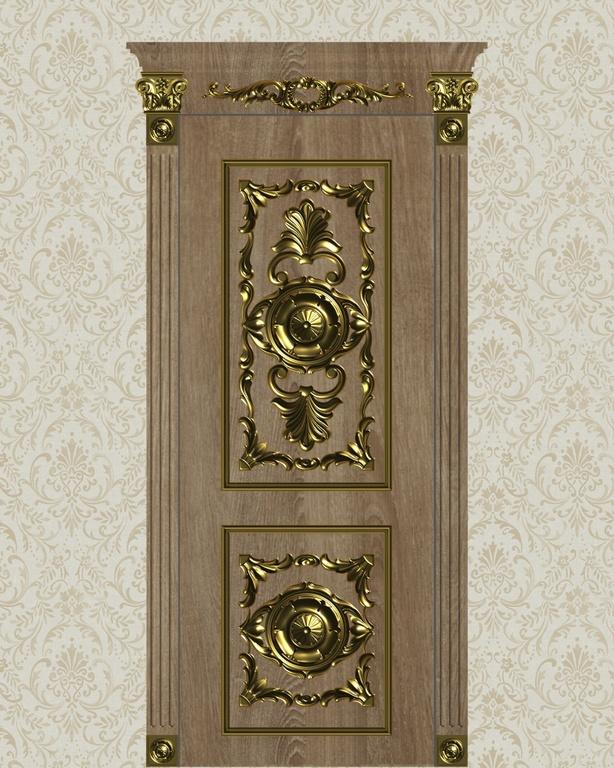 Фото 3 - Комплект резьбы для дверей DVER001.