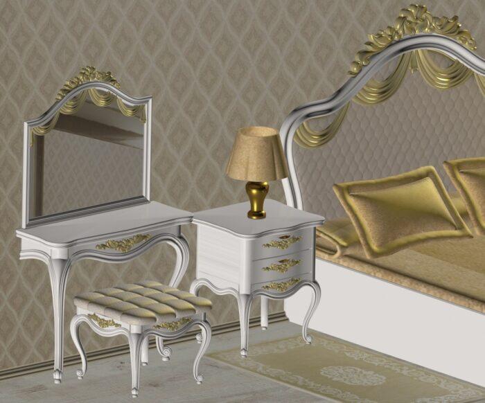 Фото 6 - Спальня «Марго».
