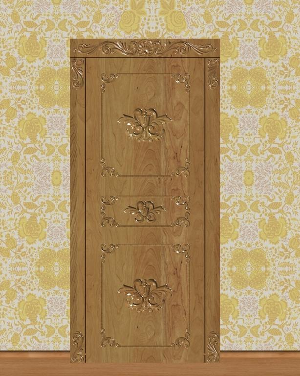Фото 1 - Комплект резьбы для дверей DVER003.
