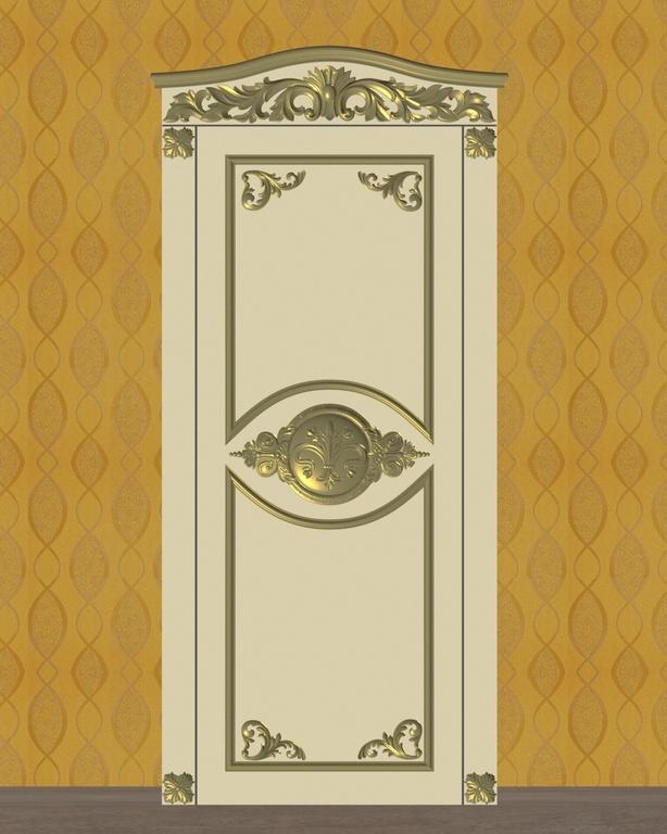 Фото 3 - Комплект резьбы для дверей DVER005.