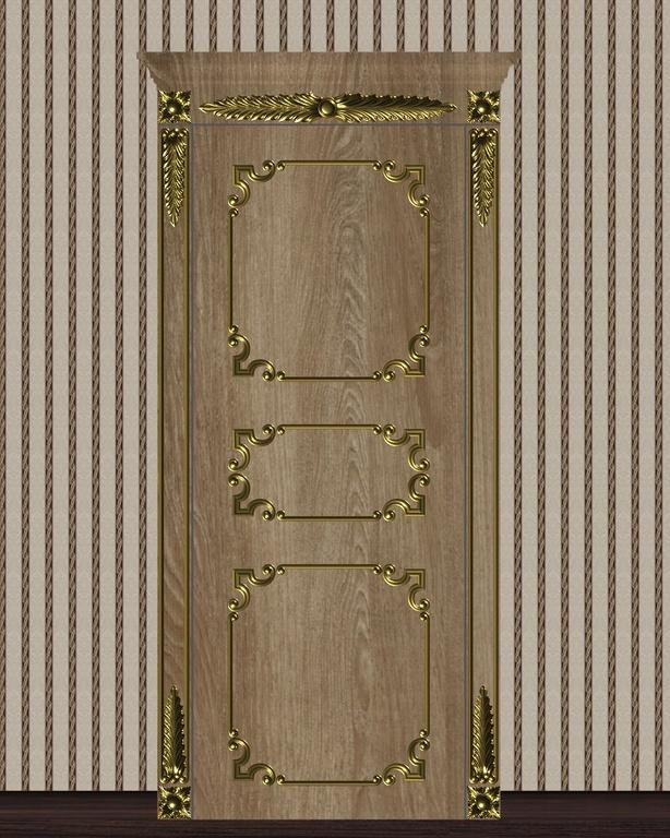 Фото 3 - Комплект резьбы для дверей DVER004.