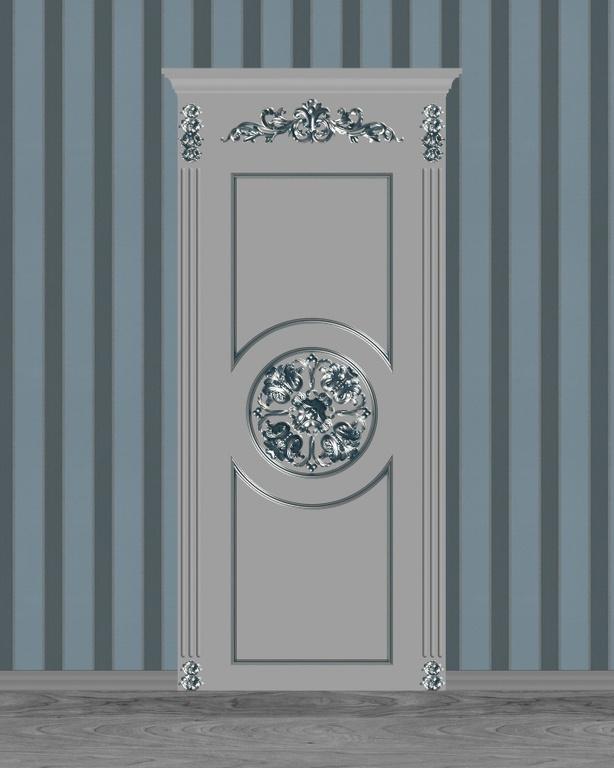 Фото 3 - Комплект резьбы для дверей DVER002.
