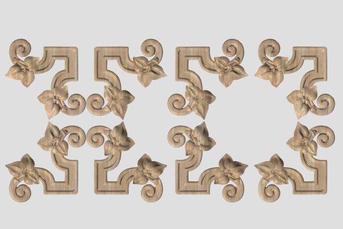 Фото 4 - Декор угловой DU024.