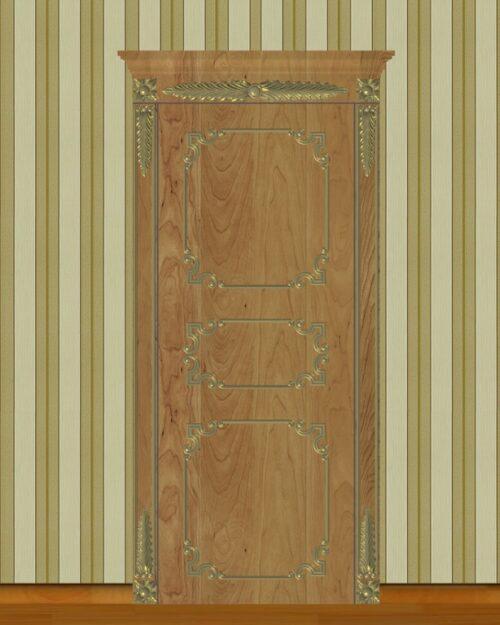 Фото 9 - Комплект резьбы для дверей DVER004.