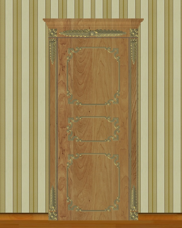 Фото 1 - Комплект резьбы для дверей DVER004.