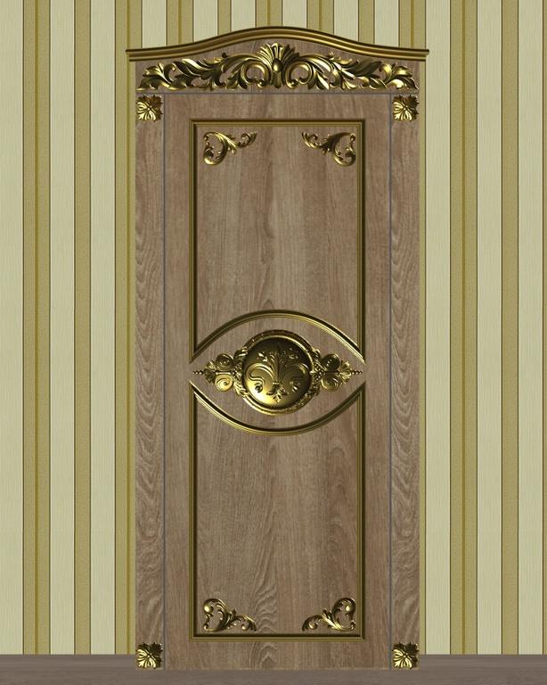 Фото 1 - Комплект резьбы для дверей DVER005.